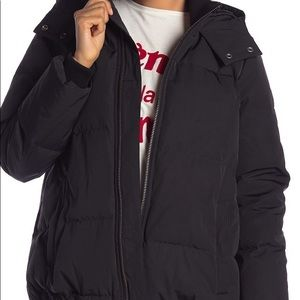Madewell Quilted Down Hooded Parka!
